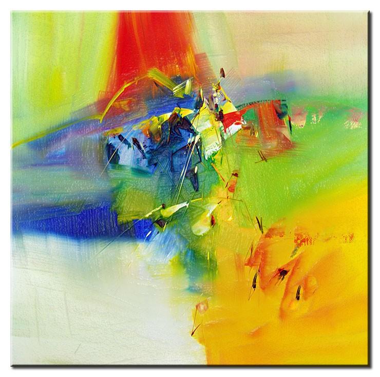 Totti Moreno Leinwandbild - Dream in colour