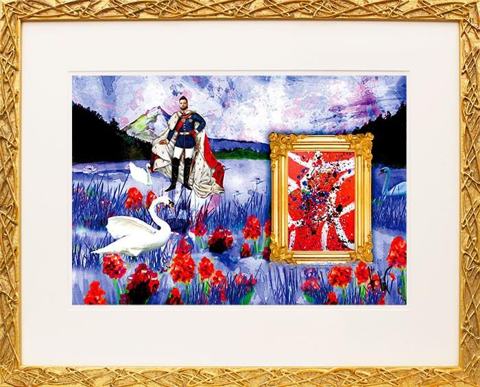Harald Glööckler, KING'S SWANLAKE, original handsigniert