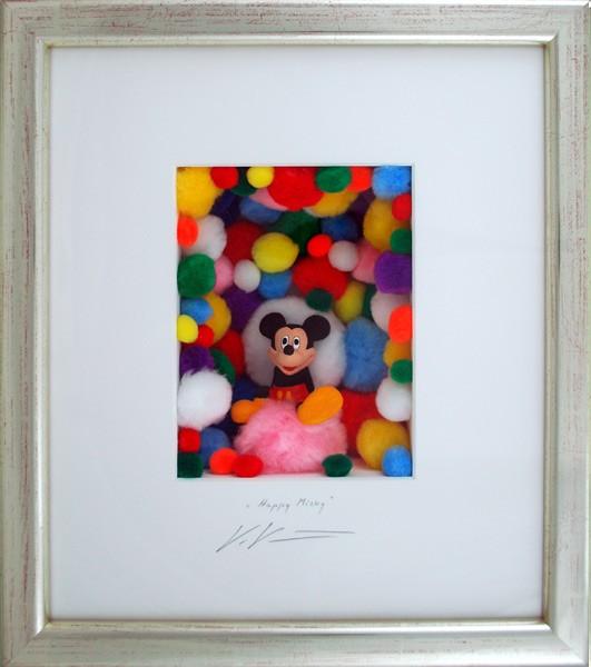 Volker Kuehn Bilder - Happy Mickey - orig. 3D-Bildobjekt