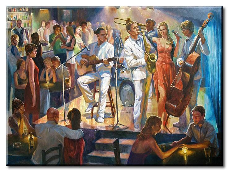 Diego Santos - Jazznight auf Kuba
