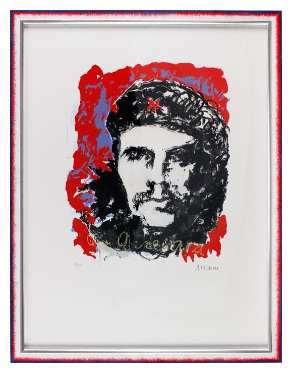 Armin Mueller-Stahl - Che Guevara - Original Siebdruck - limitiert und handsigniert