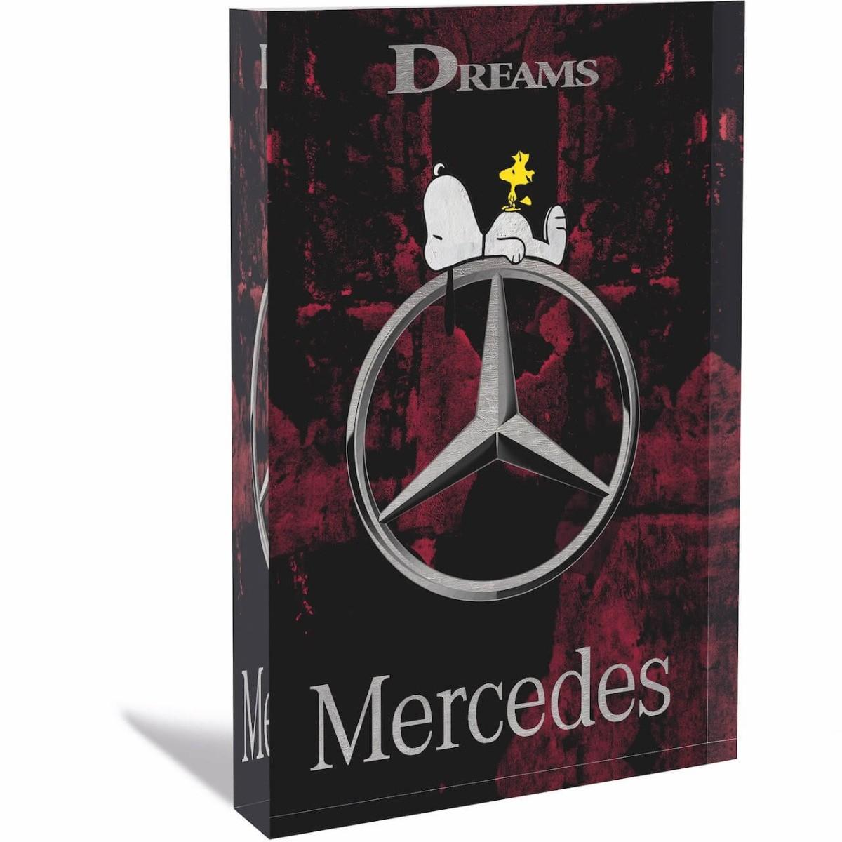 DEVIN MILES - MERCEDES - ACRYLBLOCK