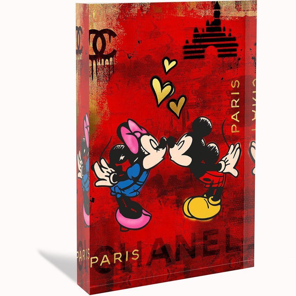 DEVIN MILES - LOVE PARIS - ACRYLBLOCK