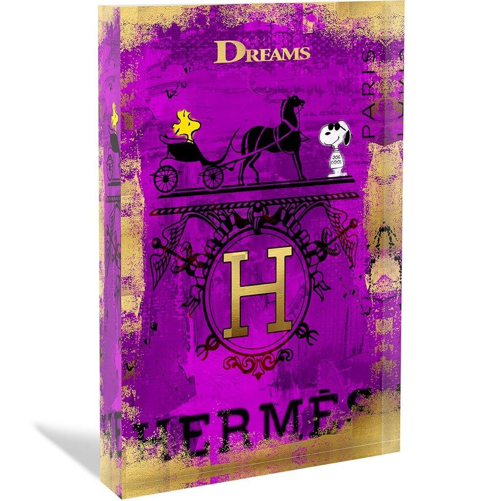 DEVIN MILES - HERMES - ACRYLBLOCK