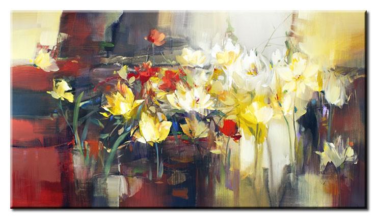 Totti Moreno Leinwandbild - Eternal Flowers
