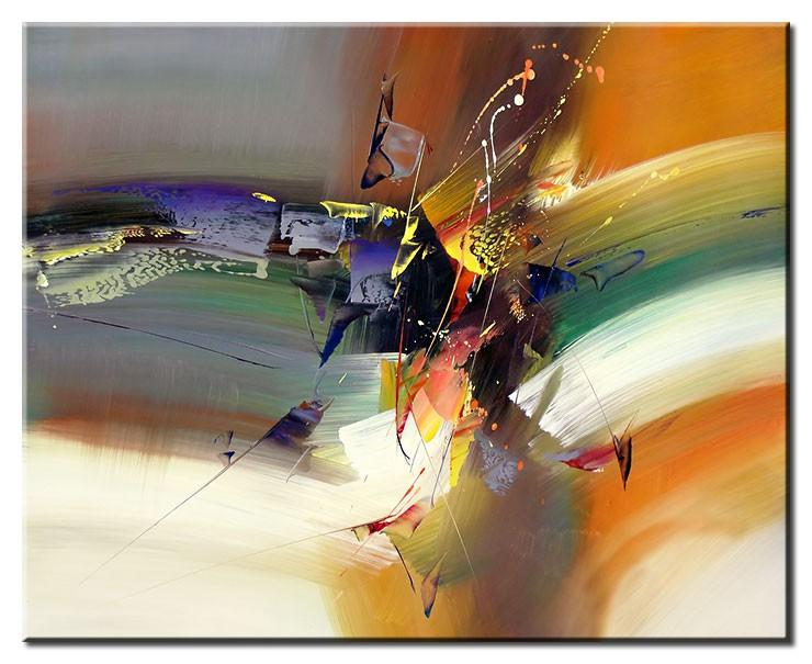 Totti Moreno Leinwandbild - Collision Course