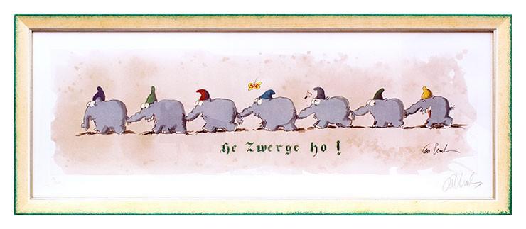 Otto Waalkes - HE, ZWERGE, HO - Marching Dwarfs