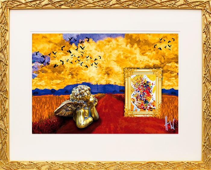 Harald Glööckler, Angels Dream, original handsigniert