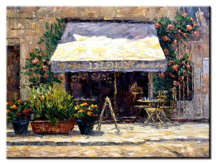 Totti Moreno - Bar mit Blumen II