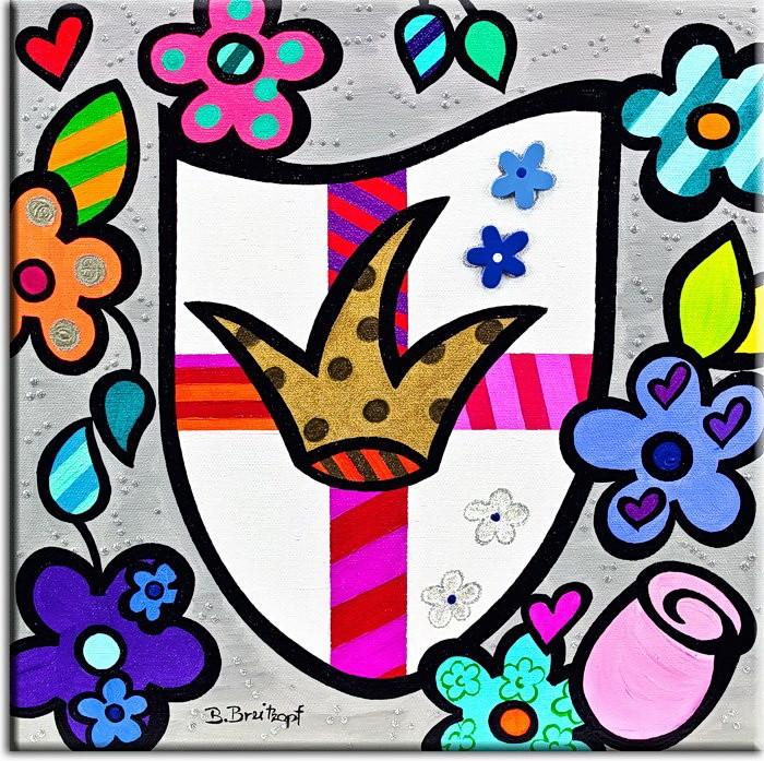 Bettina Breitkopf Pop Art Koblenz Wappen