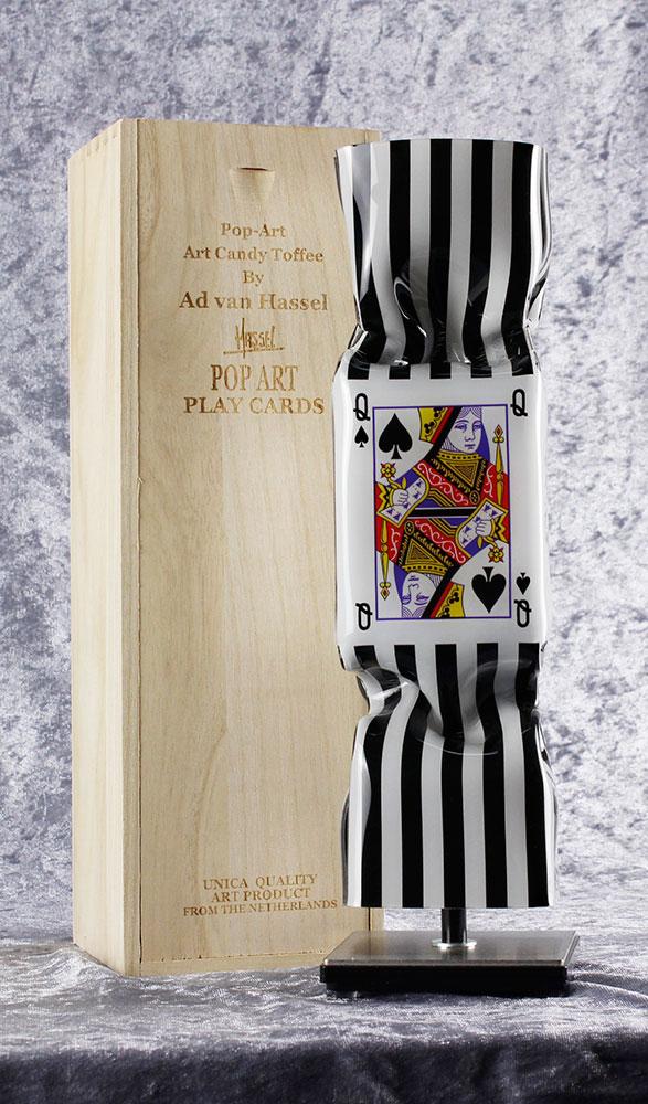 Ad van Hassel - ART CANDY TOFFEE - POP ART PLAY CARDS - original handgemachte ART CANDY SKULPTUR