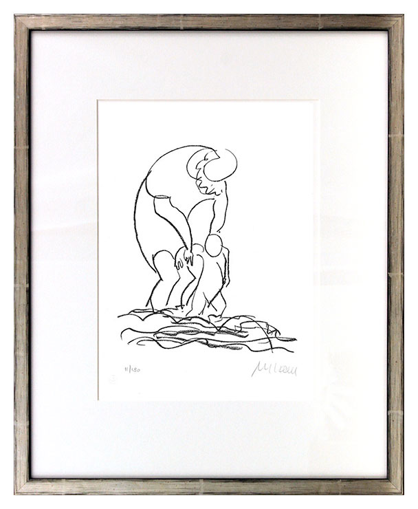 Armin Mueller-Stahl - Am Meer Original Lithographie - limitiert und handsigniert