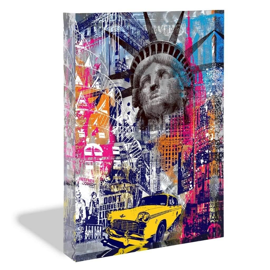 DEVIN MILES - NEW YORK - ACRYLBLOCK