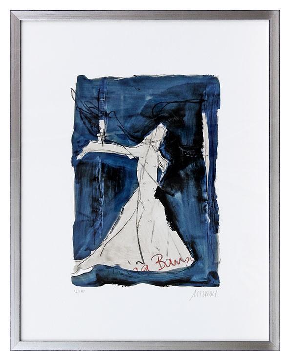 Armin Mueller-Stahl - Pina Bausch - Es kann fast alles Tanz sein - Original Giclee-Print - limitiert und handsigniert