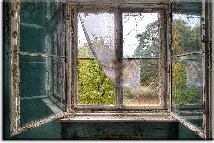 Grischka Georgiev Bilder - Open Window II - Leinwandbild